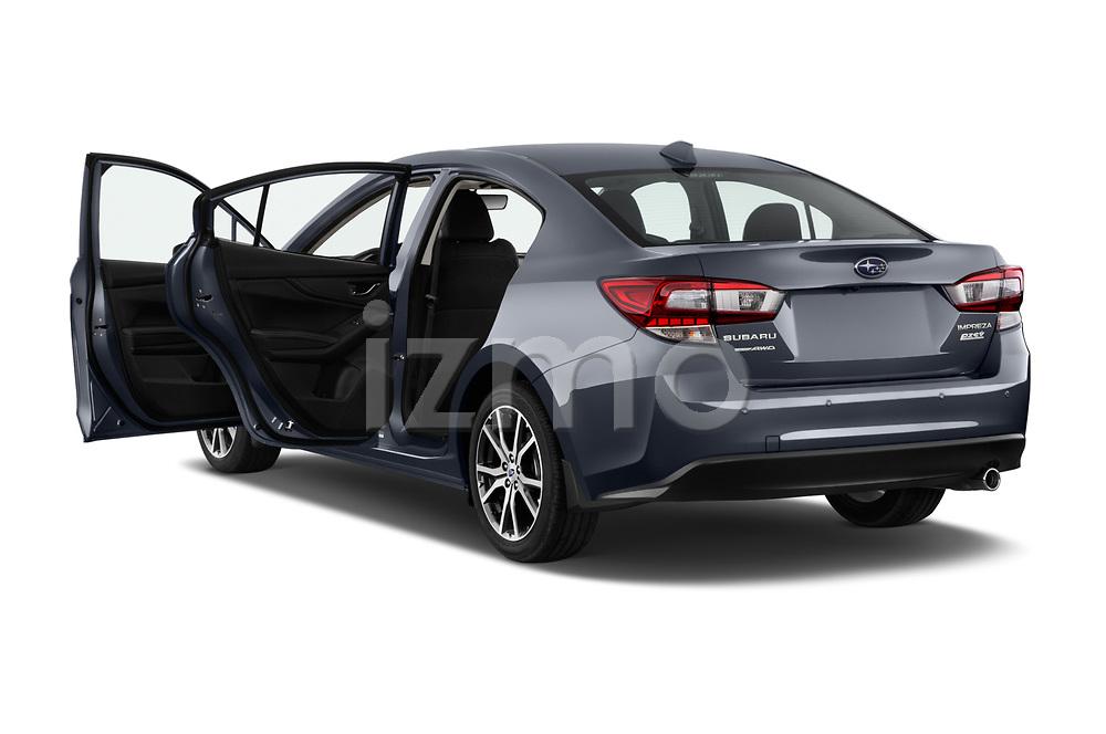 Car images of 2018 Subaru Impreza 2.0i-Limited-CVT-PZEV 4 Door Sedan Doors