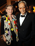 Harriet and Frank Stella at the Museum of Fine Arts Houston 's 2010 Grand Gala Ball  Friday Oct. 01, 2010. (Dave Rossman/For the Chronicle)