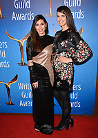 LOS ANGELES, CA. February 17, 2019: Jamie-Lynn Sigler & Lindsey Kraft at the 2019 Writers Guild Awards at the Beverly Hilton Hotel.<br /> Picture: Paul Smith/Featureflash