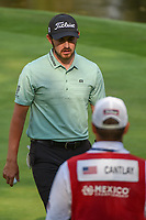 Patrick Cantlay (USA) after sinking his putt on 17 during round 4 of the World Golf Championships, Mexico, Club De Golf Chapultepec, Mexico City, Mexico. 2/24/2019.<br /> Picture: Golffile | Ken Murray<br /> <br /> <br /> All photo usage must carry mandatory copyright credit (© Golffile | Ken Murray)