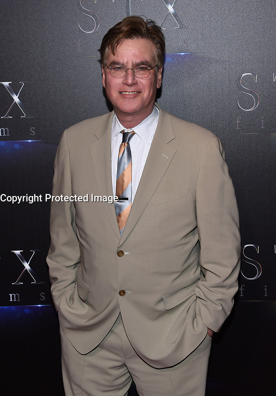 Aaron Sorkin @ the photocall for STX Films 'The State of the Industry: Past, Present and Future' held @ The Colosseum at Caesars Palace.<br /> March 28, 2017 , Las Vegas, USA. # CINEMA CON 2017 - PHOTOCALL 'THE STATE OF THE INDUSTRY'