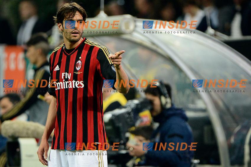 Ricardo Kaka Milan<br /> Milano 04-05-2014 Stadio Giuseppe Meazza - Football 2013/2014 Serie A. Milan - Inter Foto Giuseppe Celeste / Insidefoto