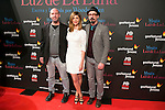 "Jaime Balaguero, Manuela Velasco and Fele Martinez attend the Premiere of the movie ""Magic in the Moonlight"" at callao Cinema in Madrid, Spain. December 2, 2014. (ALTERPHOTOS/Carlos Dafonte)"