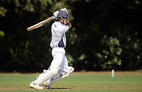 Curtis Heaphy bats during the 2018 Junior NZ Secondary School Cricket Boys' Tournament match between St Andrew's College and Palmerston North Boys' High School at Fitzherbert Park in Palmerston North, New Zealand on Friday, 23 March 2018.. Photo: Dave Lintott / lintottphoto.co.nz