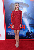 "12 June 2017 - Westwood, California - Claire Holt. ""47 Meters Down"" Los Angeles Premiere held at Regency Village Theatre in Westwood. Photo Credit: Birdie Thompson/AdMedia"