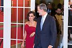 King Felipe VI and Queen Letizia of Spain during Commemorative act of the foundation of newspaper 'El Mundo'. October 01, 2019. (ALTERPHOTOS/ Francis Gonzalez)