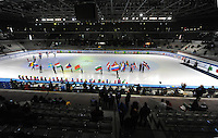 SHORT TRACK: TORINO: 14-01-2017, Palavela, ISU European Short Track Speed Skating Championships, Opening Ceremony, ©photo Martin de Jong