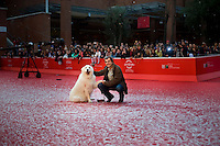 Il registaRome, November 9, 2013. Nicolas Vanier attends the 'Belle Et Sebastien' Premiere during The 8th Rome Film Festival.<br />