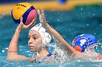 Izabella Chiappini of Italy , Sabrina / Catharina van der Sloot of the Netherlands <br /> Firenze 19-11-2019 Piscina Nannini <br /> water polo Women's World League <br /> Italy ITA - Nederland NED <br /> Photo Andrea Staccioli/Deepbluemedia/Insidefoto