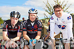 Chain Gang cyclists at the County Cycling Championships in Cordal on Sunday l-r: Sean Williams, Donnacha Galvin and Barry Cooney r