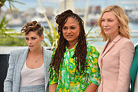 Kristen Stewart, Ava Duvernay &amp; Cate Blanchett at the photocall for the Cannes Jury at the 71st Festival de Cannes, Cannes, France 08 May 2018<br /> Picture: Paul Smith/Featureflash/SilverHub 0208 004 5359 sales@silverhubmedia.com