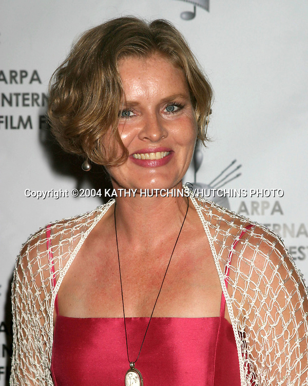 ©2004 KATHY HUTCHINS /HUTCHINS PHOTO.2004 ARPA INTERNATIONAL FILM FESTIVAL GALA AND AWARDS BANQUET.LOS ANGELES, CA.OCTOBER 10, 2004..SANNA VRAA