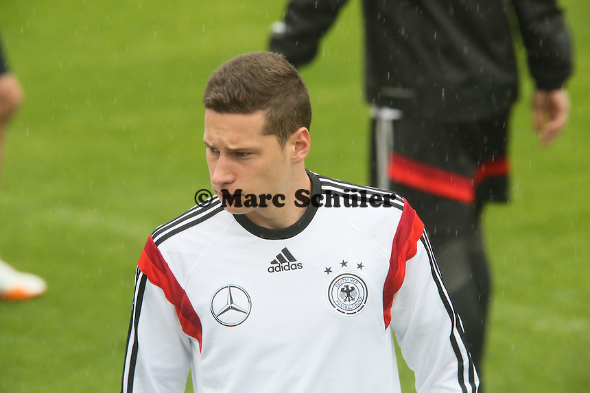 Julian Draxler - Training der Deutschen Nationalmannschaft  zur WM-Vorbereitung in St. Martin