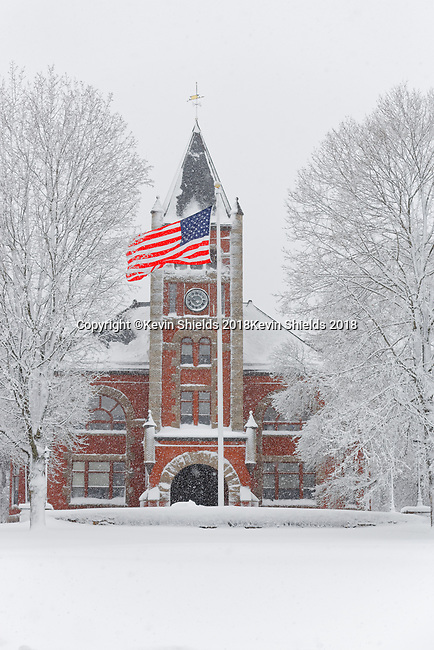 Thompson Hall, University of New Hampshire, USA