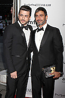 Brazilian porn actor Harry Louis and designer Marc Jacobs attending amfAR's third annual Inspiration Gala at the New York Public Library in New York, 07.06.2012..Credit: Rolf Mueller/face to face /MediaPunch Inc. ***FOR USA ONLY***