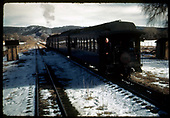 Excursion train.<br /> D&amp;RGW