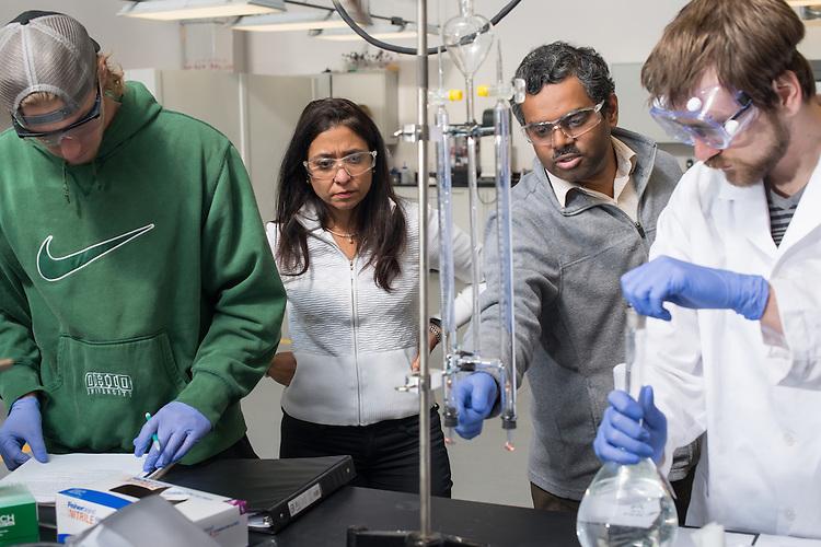 CEER Lab, Faculty, Gerri Botte, Russ College of Engineering, Undergraduate Class