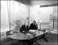 Candid snaps from Churchill's War Room.