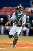 University of Alabama at Birmingham Blazers catcher Harry Clark #36 during a game against the Dartmouth Big Green at Chain of Lakes Stadium on March 17, 2013 in Winter Haven, Florida.  Dartmouth defeated UAB 4-0.  (Mike Janes/Four Seam Images)