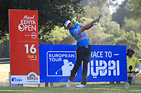 Greg Snow (KEN) in action during the first round of the Magical Kenya Open presented by ABSA, played at Karen Country Club, Nairobi, Kenya. 14/03/2019<br /> Picture: Golffile | Phil Inglis<br /> <br /> <br /> All photo usage must carry mandatory copyright credit (&copy; Golffile | Phil Inglis)
