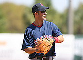 March 17th 2008:  Mike Lowell of the Boston Red Sox during a Spring Training game at Legends Field in Tampa, FL.  Photo by:  Mike Janes/Four Seam Images