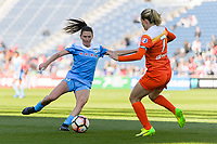 Bridgeview, IL - Saturday May 06, 2017: Arin Gilliland during a regular season National Women's Soccer League (NWSL) match between the Chicago Red Stars and the Houston Dash at Toyota Park. The Red Stars won 2-0.