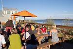Port Townsend, local waterfront pub, the Pourhouse, Olympic Peninsula, Washington State, Pacific Northwest, USA,
