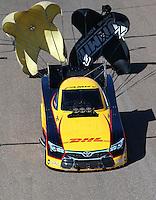 Feb 28, 2016; Chandler, AZ, USA; NHRA funny car driver Del Worsham during the Carquest Nationals at Wild Horse Pass Motorsports Park. Mandatory Credit: Mark J. Rebilas-
