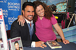 "Don Diamont and fan Lynn - The Bold and The Beautiful Don Diamont signed his book ""My Seven Sons and How We Raised Each Other""  - They only drive me crazy 30% of the time - for fans after a Q and A on May 31, 2018 at Books & Greetings in Northvale, New Jersey.  (Photo by Sue Coflin/Max Photo)"