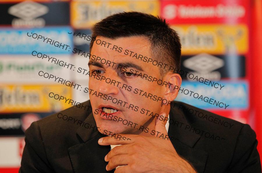 Fudbal soccer <br /> Radovan Curcic-selektor A tim-a Srbije national team of Serbia head coach<br /> Beograd, 30.05.2015.<br /> foto: Srdjan Stevanovic/Starsportphoto &copy;
