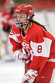 Jillian Kirchner (BU - 18) - The Northeastern University Huskies defeated the Boston University Terriers in a shootout after being tied at 4 following overtime in their Beanpot semi-final game on Tuesday, February 2, 2010 at the Bright Hockey Center in Cambridge, Massachusetts.