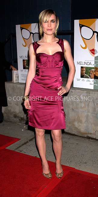 WWW.ACEPIXS.COM . . . . . ....NEW YORK, MARCH 16, 2005....Radha Mitchell at the 'Melinda and Melinda' premiere held at Chelsea West Cinemas.....Please byline: KRISTIN CALLAHAN - ACE PICTURES.. . . . . . ..Ace Pictures, Inc:  ..Philip Vaughan (646) 769-0430..e-mail: info@acepixs.com..web: http://www.acepixs.com