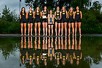 The 2017 University of Washington national championship women's rowing team on June 1, 2017. (Photography by Scott Eklund/Red Box Pictures)