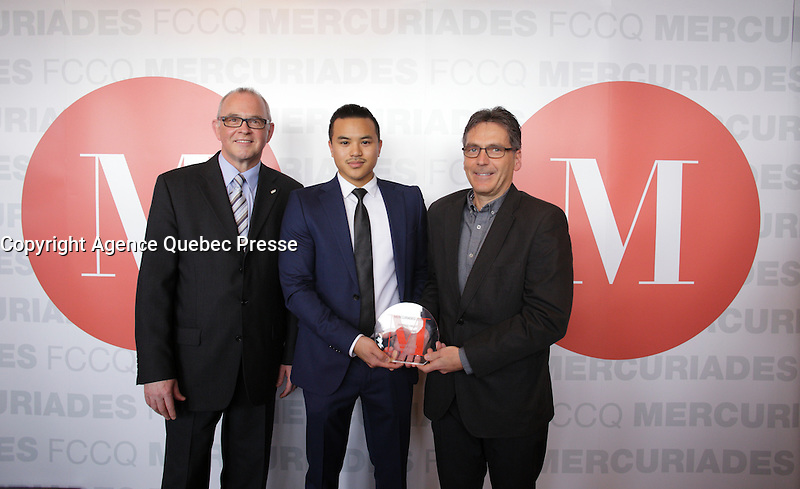 Finalist in the MERCURIADES Awards, March 17, 2016.<br /> <br /> Photo : Pierre Roussel - Agence Quebec Presse