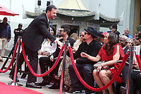 HOLLYWOOD, CA - MARCH 7: Jimmy Kimmel greets Nicole Riche and Joel Madden at Lionel Richie's TCL Hand And Footprints Ceremony At The TCL Chinese Theatre IMAX In Hollywood, California on March 7, 2018. <br /> CAP/MPI/FS<br /> &copy;FS/MPI/Capital Pictures