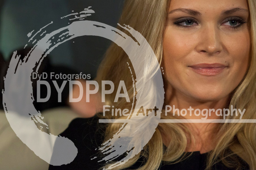 "The actress Eliza Taylor attends the fan event of the tv shows ARROW and THE 100, at the ""ATRESMEDIA CAFE""   in Madrid, Spain. Jun 9, 2014. Photo by Nacho lopez/ DyD Fotografos-DYDPPA"