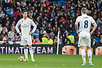 Cristiano Ronaldo and Toni Kroos during the match of Spanish La Liga between Real Madrid and UD Las Palmas at  Santiago Bernabeu Stadium in Madrid, Spain. March 01, 2017. (ALTERPHOTOS / Rodrigo Jimenez)