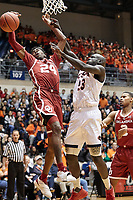 SAN ANTONIO, TX - NOVEMBER 12, 2018: The University of Texas at San Antonio Roadrunners fall to the University of Oklahoma Sooners 87-67 at the UTSA Convocation Center. (Photo by Jeff Huehn)