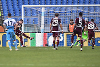 Andrea Belotti Torino scores a goal on penalty.<br /> Roma 29-12-2018 Stadio Olimpico<br /> Football Calcio Campionato Serie A<br /> 2018/2019 <br /> Lazio - Torino<br /> Foto Antonietta Baldassarre / Insidefoto