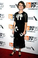 Millicent Simmonds bei der Premiere von 'Wonderstruck' auf dem 55. New York Film Festival in der Alice Tully Hall. New York, 07.10.2017
