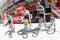Danail Andonov (c), Andre Fernando Cardoso  and Antonio Piedra during the stage of La Vuelta 2012 between Logroño and Logroño.August 22,2012. (ALTERPHOTOS/Acero) /NortePhoto.com<br /> <br /> **SOLO*VENTA*EN*MEXICO**<br /> **CREDITO*OBLIGATORIO**<br /> *No*Venta*A*Terceros*<br /> *No*Sale*So*third*<br /> *** No Se Permite Hacer Archivo**<br /> *No*Sale*So*third*