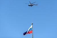 SAO PETERSBURGO, RUSSIA - 12.07.2018 - SAO PETERSBURGO-RUSSIA - Bandeira da Russia é vista na cidade de São Petersburgo, na Rússia, nesta quinta-feira, 12. (Foto: William Volcov / Brazil Photo Press)