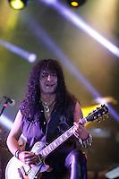 La bada de Rock  Mago de Oz durante su concierto  ?Hechizos, Pócimas y Brujerías? en Expoforum.. 11 de  abril 2013 en Hermosillo Sonora.