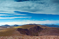 Stob Coire an t-Sneachda and the Northern Corries from Cairn Gorm, Cairngorm National Park, Badenoch & Speyside