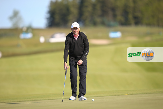 Peter Lawrie (IRL) cards a 69 and will play the weekend during Round Two of the 2015 Nordea Masters at the PGA Sweden National, Bara, Malmo, Sweden. 05/06/2015. Picture David Lloyd | www.golffile.ie