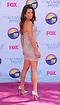 UNIVERSAL CITY, CA - JULY 22: Lea Michele arrives at the 2012 Teen Choice Awards at Gibson Amphitheatre on July 22, 2012 in Universal City, California.