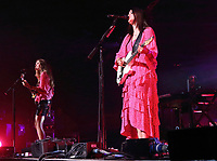 First Aid Kit performs at the Cambridge Folk Festival 2018, Cherry Hinton Hall, Cambridge, England, UK on 3rd and 4th August 2018.<br /> CAP/ROS<br /> &copy;ROS/Capital Pictures
