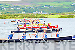 U16 girls getting off to a good star in their qualifying heat at the All Ireland Regatta in Waterville at the weekend.