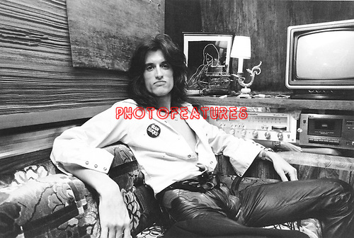 Joe Perry  1984  Joe Perry Project.© Chris Walter.