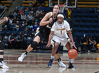 Berkeley, CA - January 8th, 2016: CAL Women's Basketball's 64-35 victory against Colorado Buffaloes at Haas Pavilion.